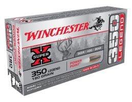 Winchester Super-X .350 Legend 180 gr 20 Rounds Ammunition - X3501