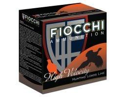 """Fiocchi High Velocity 12 GA 2-3/4"""" 1-1/4 oz. #6 25 Rounds Ammunition - 12HV6"""