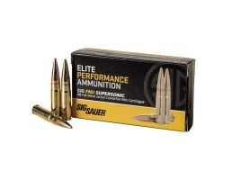Sig Sauer Elite Ball 125 gr FMJ .300 Blackout Ammo, 20/box - E300B1-20