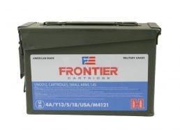 Hornady Frontier 5.56 55gr FMJ 500 Rounds - FR204