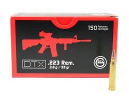 GECO .223 Rem 55gr FMJ Ammo, 150rd Box - 581040150