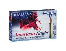 American Eagle 223 55gr FMJ Ammunition 20rds - AE223M