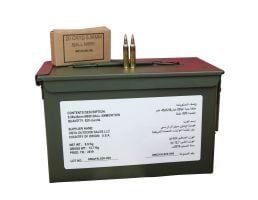 Federal American Eagle 5.56x45mm NATO 62gr FMJ 820rd Ammo Can - ZSAM855MOI