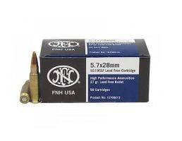 FN 5.7x28mm 27gr Lead-Free HP, 50rds - SS195LF
