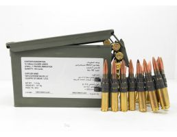Federal 50 BMG M33/M17 4:1 Ball and Tracer Linked Ammo, 100rd Can - ZSAMA557MOI