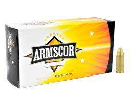 Armscor Precision 124gr FMJ 9mm Ammo, 50rds - 50041