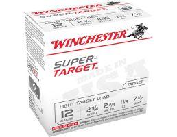 """Winchester Super Target Light Target Load 12 Gauge 2-3/4"""" 7-1/2 Shot 1-1/8 oz Shotshell, 100/Box - TRGT127VP"""