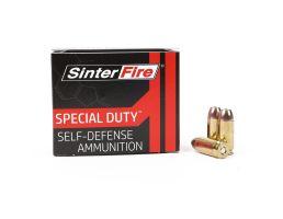 Sinterfire Special Duty 125 gr HP .40 S&W Ammunition, 20 Rounds - SF40125SD