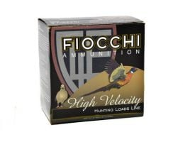 """Fiocchi 20ga, 2.75"""", 1oz, #7.5, HV Shotshell Ammo, 25rds - 20HV75"""