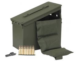 PMC Bulk .223 Ammo 55 Grain FMJ w/ Bandolier in M2A1 840 rd/can - 223AMB-840