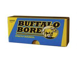 Buffalo Bore Heavy 30-30 Win 190 grain Jacketed Flat Nose Rifle Ammo, 20/Box - 28A/20