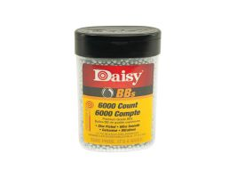 Daisy Outdoor Products Precisionmax .177 5.1 gr Round BB Bottle, 6000/pack - 980060-001