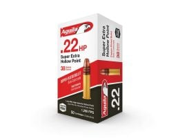 Aguila Special Super Extra HP .22 LR 38 gr Copper-Plated Hollow Point  Ammo, 50/box - 1B222335
