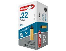 Aguila Special .22 LR 20 gr Colibri Lead  Ammo, 50/box - 1B222337