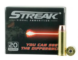 Ammo Inc Streak 240 gr Total Metal Jacket .44 Rem Mag Ammo, 20/box - 44240TMCSTRK