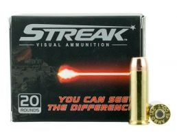 Ammo Inc Streak 250 gr Total Metal Jacket .45 Colt Ammo, 20/box - 45C250TMCSTR