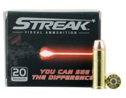 Ammo Inc Streak 250 gr Jacketed Hollow Point .45 Colt Ammo, 20/box - 45C250JHPSTR