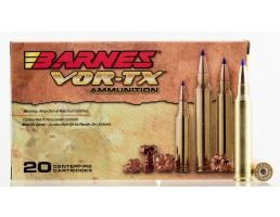 Barnes Bullets VOR-TX 165 gr Tipped TSX Boat Tail .300 Win Mag Ammo, 20/box - 21537
