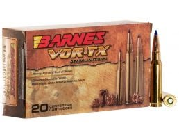 Barnes Bullets VOR-TX 150 gr Tipped TSX Boat Tail .308 Win Ammo, 20/box - 21540
