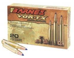 Barnes Bullets VOR-TX 168 gr Tipped TSX Boat Tail .308 Win Ammo, 20/box - 21541