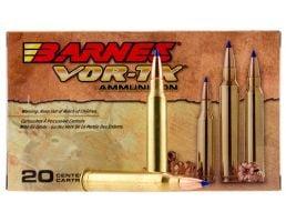Barnes Bullets VOR-TX 130 gr Tipped TSX Boat Tail .308 Win Ammo, 20/box - 30816