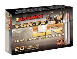 Barnes Bullets VOR-TX LR 270 gr LRX Boat Tail .375 RUM Ammo, 20/box - 29067