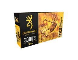 Browning BXS 180 gr Terminal Tip .300 Win Mag Ammo, 20/box - B192403001