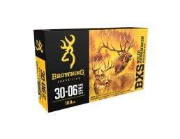 Browning BXS 180 gr Terminal Tip .30-06 Spfld Ammo, 20/box - B192430061