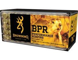 Browning BPR Performance 17 gr Polymer Tip .17 HMR Ammo, 50/box - B195117050
