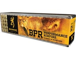 Browning BPR Performance 40 gr Lead Hollow Point .22lr Ammo, 1000 Rounds - B194122100