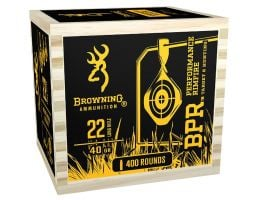 Browning BPR Performance 40 gr Lead Round Nose .22 lr Ammo, 2400 Rounds - B194122WB