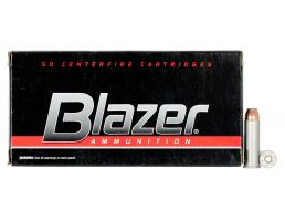 CCI Blazer 125 gr Jacketed Hollow Point .38 Spl +P Ammo, 50/box - 3514