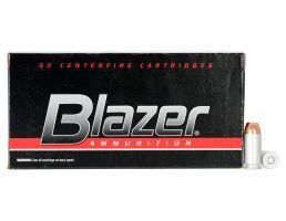 CCI Blazer 165 gr Full Metal Jacket .40 S&W Ammo, 50/box - 3589