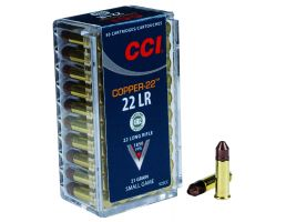CCI Copper-22 21 gr Hollow Point .22lr Ammo, 50/box - 925CC