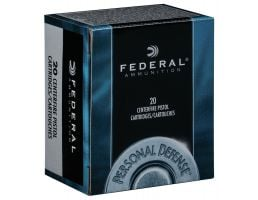 Federal Personal Defense Revolver 158 gr Jacketed Hollow Point .357 Mag Ammo, 20/box - C357E