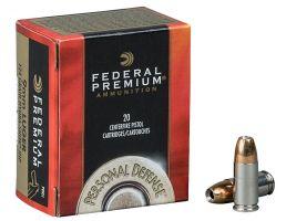 Federal Premium Personal Defense 155 gr Hydra-Shok .40 S&W Ammo, 20/box - P40HS2