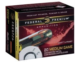Federal 300 gr Swift A-Frame .454 Casull Ammo, 20/box - PD454SA