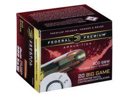 Federal Premium 325 gr Swift A-Frame .500 S&W Ammo, 20/box - P500SA