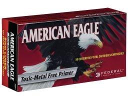 Federal American Eagle Indoor Range Training 124 gr Full Metal Jacket 9mm Ammo, 50/box - AE9N1