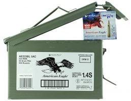 Federal American Eagle 55 gr Full Metal Jacket .223 Rem/5.56 Ammo, 500/box - AE223BL5AC