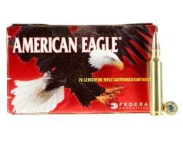 Federal American Eagle 75 gr Total Metal Jacket .223 Rem Ammo, 20/box - AE223T75