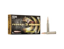 Federal Premium Hunter 140 gr Berger Hybrid .270 Win Ammo, 20/box - P270BCH1