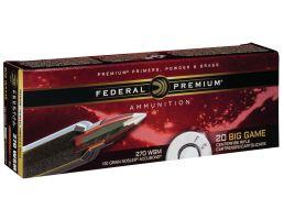 Federal Premium 130 gr Nosler AccuBond .270 WSM Ammo, 20/box - P270WSMA1