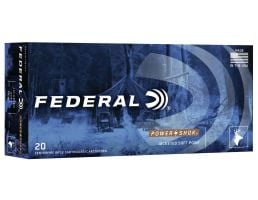 Federal Power-Shok 150 gr Jacketed Soft Point .300 Blackout Ammo, 20/box - 300BLKB