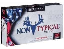 Federal Non-Typical 180 gr Soft Point .300 Win Mag Ammo, 20/box - 300WDT180