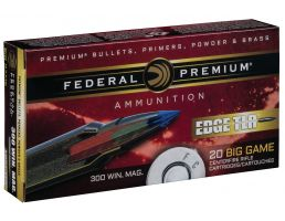 Federal Premium Edge TLR 200 gr Terminal Long Range .300 Win Mag Ammo, 20/box - P300WETLR200