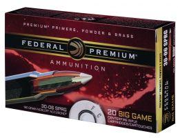 Federal Premium 180 gr Nosler AccuBond .30-06 Spfld Ammo, 20/box - P3006A1