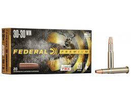 Federal Premium Barnes TSX 150 gr Triple-Shock X .30-30 Win Ammo, 20/box - P3030G
