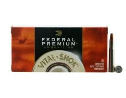 Federal Premium 170 gr Nosler Partition .30-30 Win Ammo, 20/box - P3030D