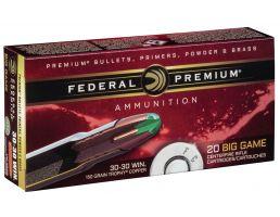 Federal Premium 150 gr Trophy Copper .30-30 Win Ammo, 20/box - P3030TC1